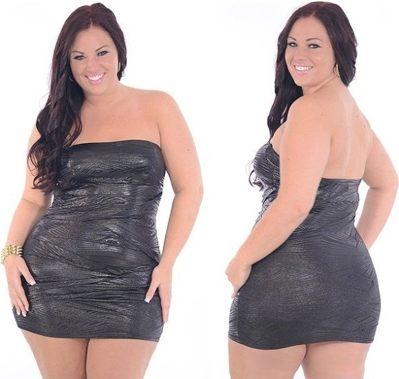 Very Plus size club dresses for women