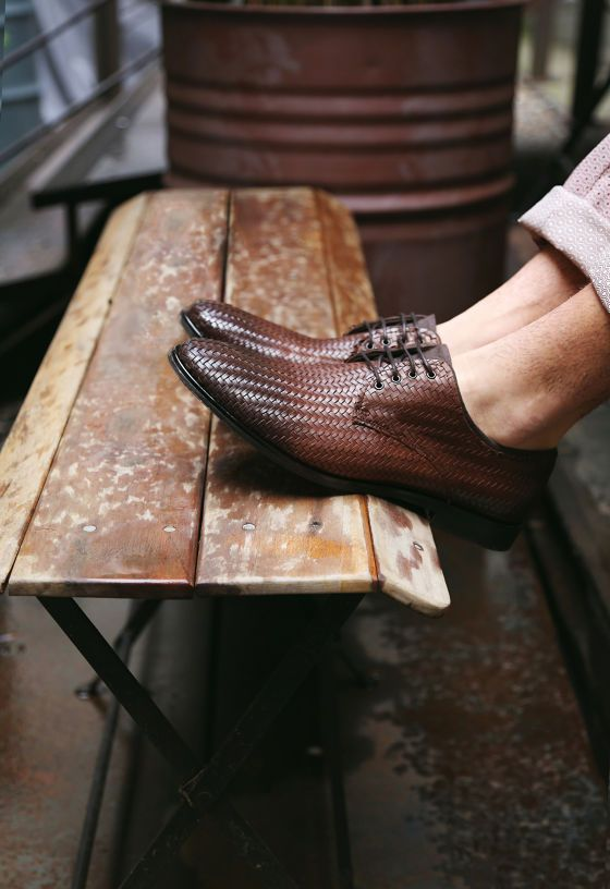 Woven Mens shoes