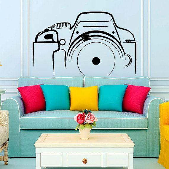Wall Vinyl Decal Sticker Photo Camera  Art Design by VinylDecals2U