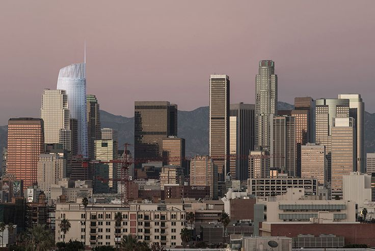2/7/2013: Schematic designs unveiled for the West Coast's tallest tower, the Wilshire Grand in Los Angeles.
