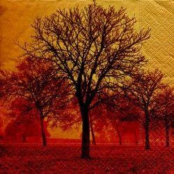 Serviett, 33x33 cm - Autumn mood