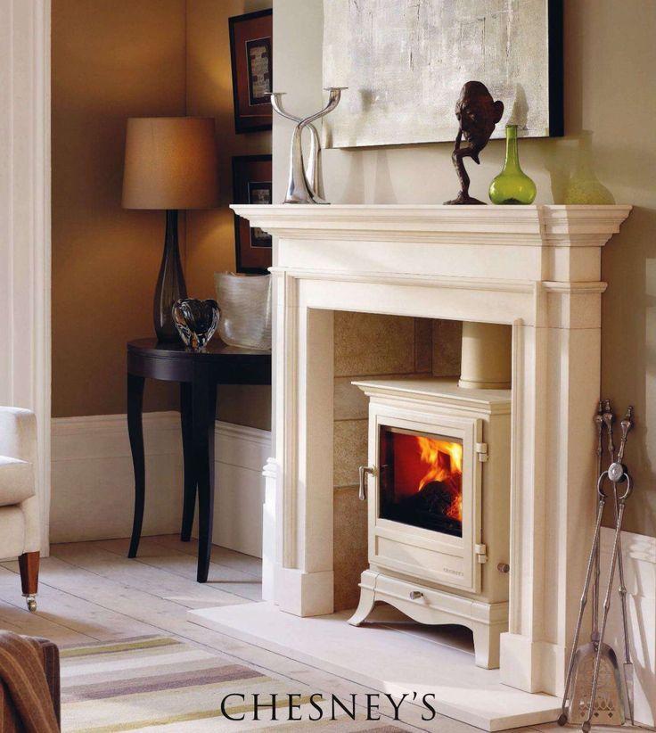 Chesney iron wood burning stove