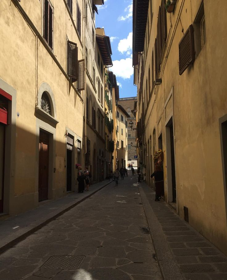I enjoy every moment as I enjoy every picture. — At the end of the street is the great Palazzo...