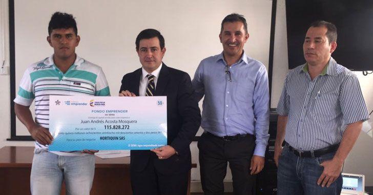 Más de 553 millones de pesos entregó el Fondo Emprender del Sena
