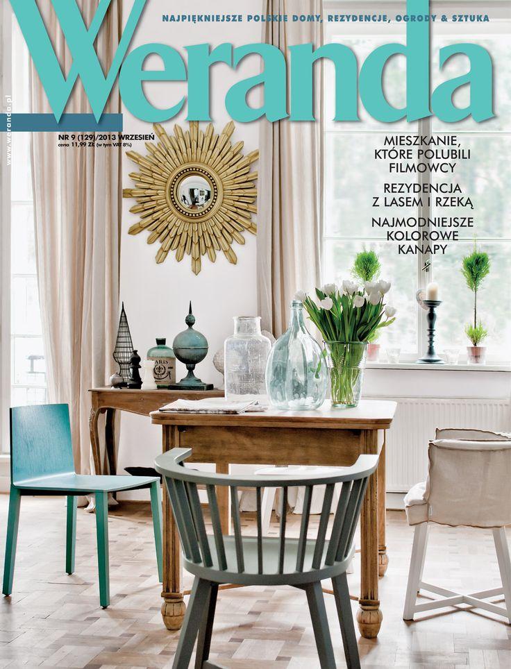 Okładka magazynu Weranda 9/2019 www.weranda.pl