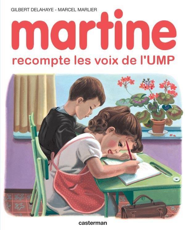 Martine recompte les voix de l'UMP