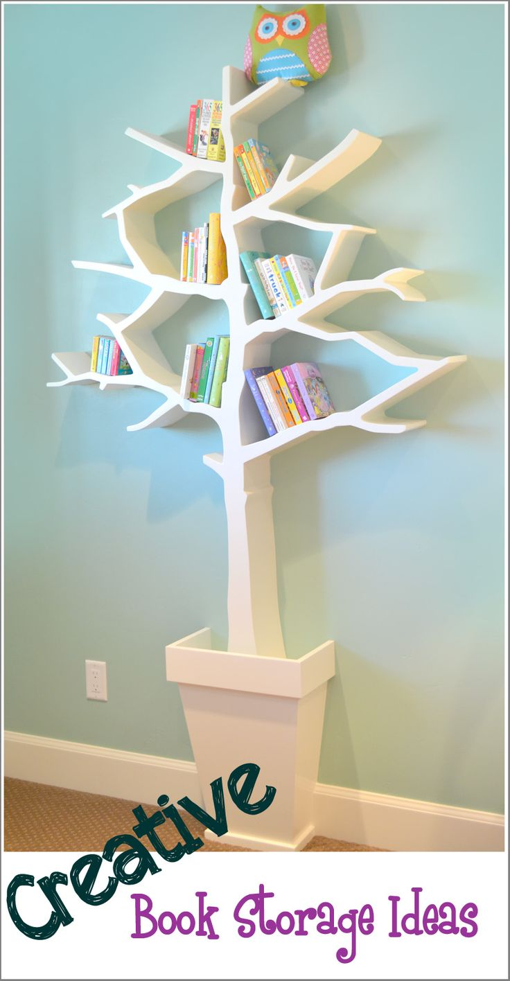 17 best images about leah 39 s room tree shelf ideas on for Creative mural ideas