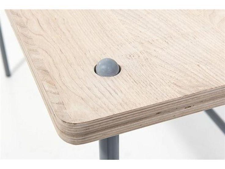Bloomingville Study Desk bureautafel hout metaal - LIVING AND COMPANY