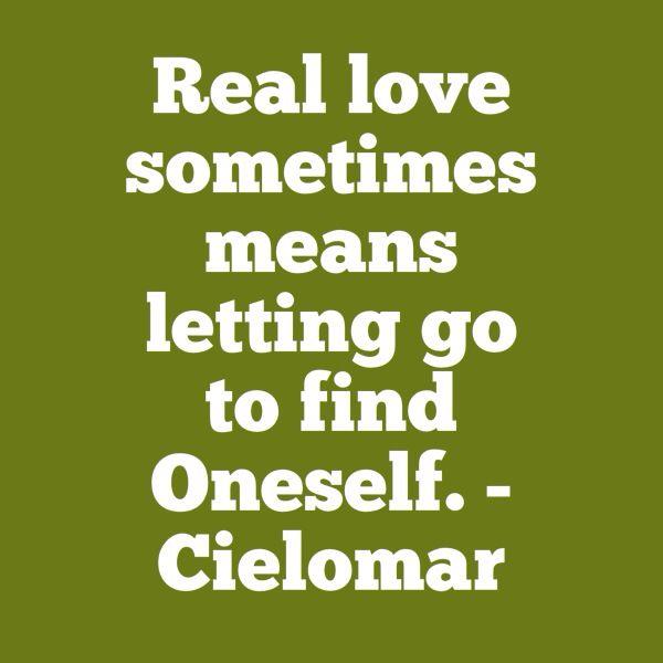 Real love...