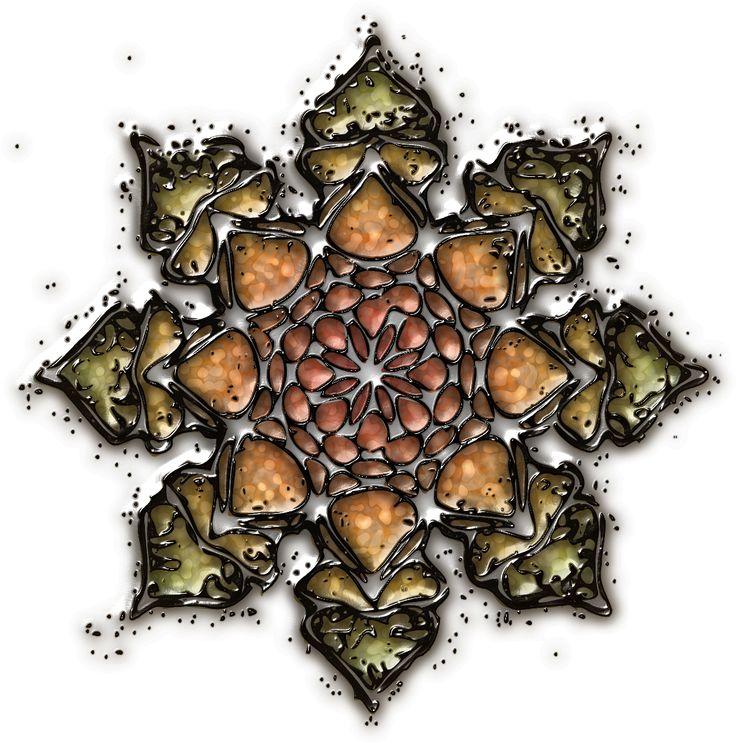 bijou imaginaire 03 Mandala, Design