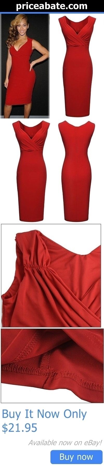 Beyonce Dresses: Beyonce Dress Bodycon Red Size 2 BUY IT NOW ONLY: $21.95 #priceabateBeyonceDresses OR #priceabate