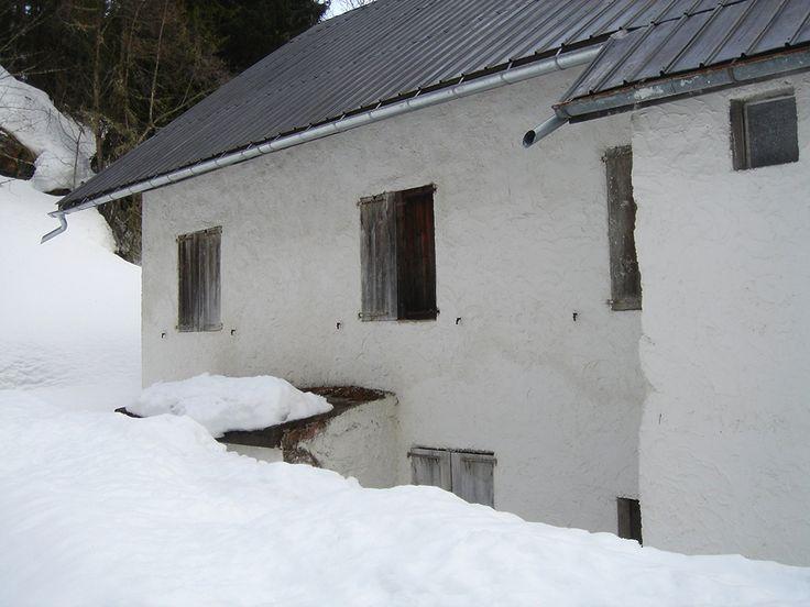 Heavy snow...