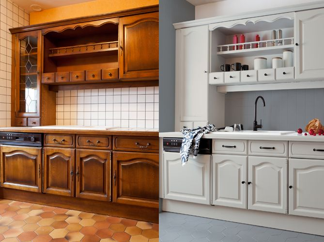 Les 25 meilleures id es de la cat gorie repeindre meuble for 7x12 kitchen ideas