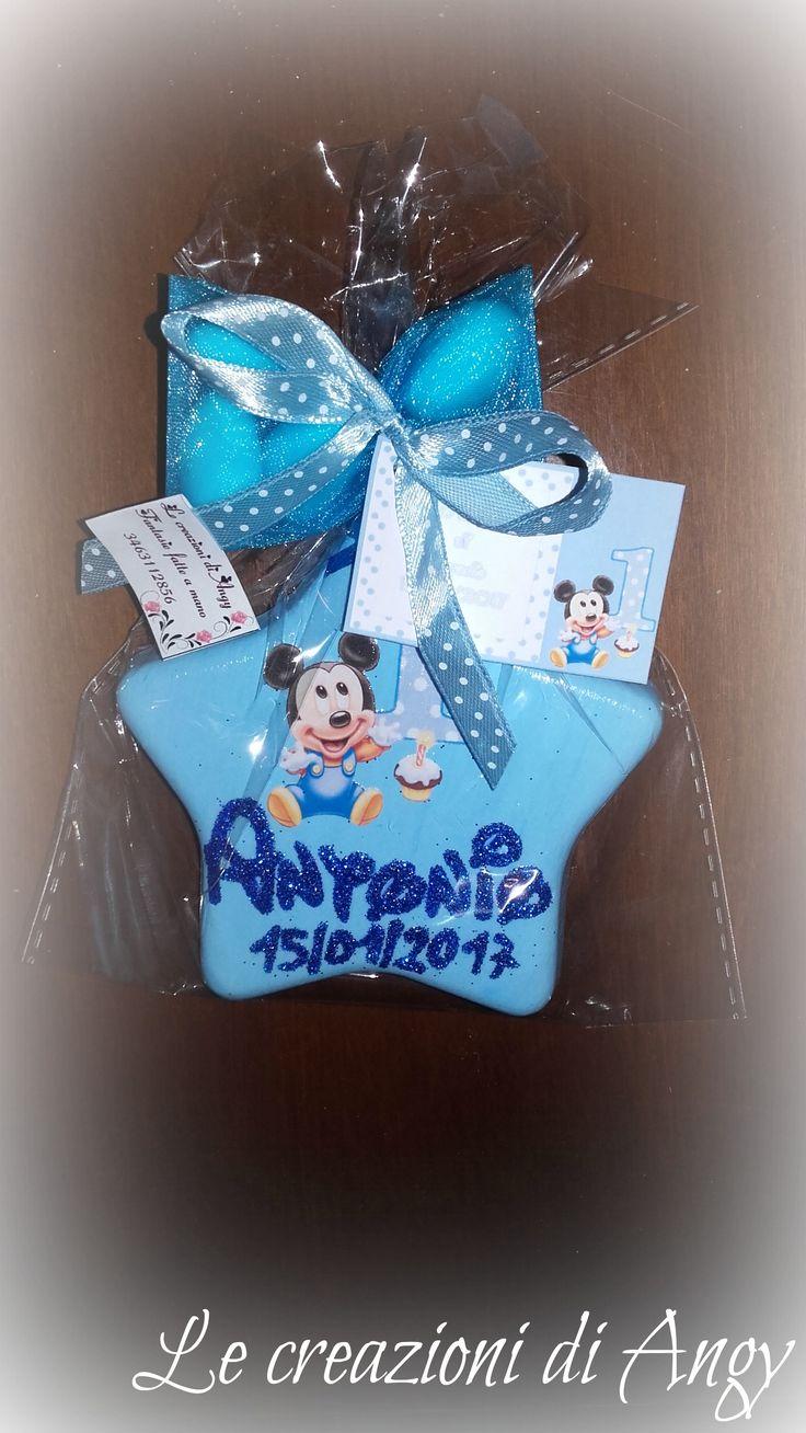 Bomboniera personalizzata primo compleanno