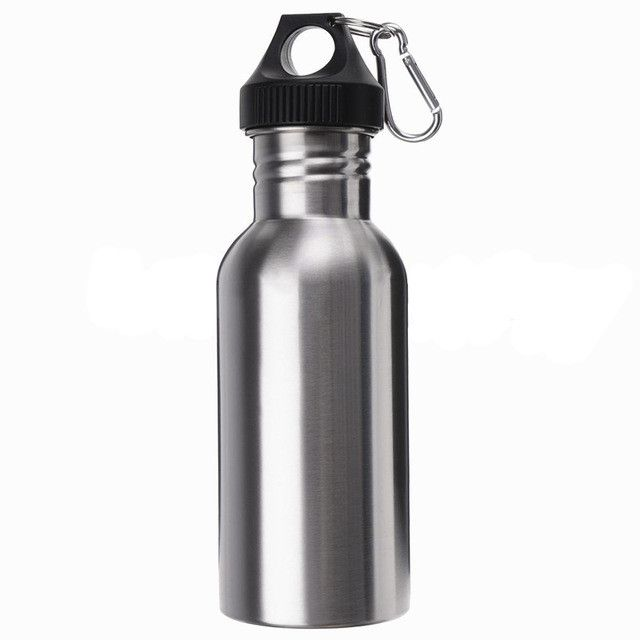 Stainless Steel Wide Mouth Drinking Water Bottle Outdoor Travel Sports Cycle Drink Bottles Kettle For Outdoor Tools