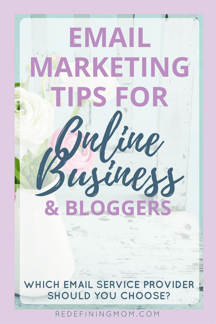 Email marketing tips for online business and bloggers. MailChimp or ConvertKit? Learn the two major things you should consider before making a choice! Email marketing strategy entrepreneur / Email list growth / Make money from home / How to start a blog via @redefinemom