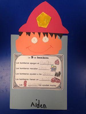 Los bomberos (Los ayudantes de la comunidad) Community Helpers (Kindergarten)
