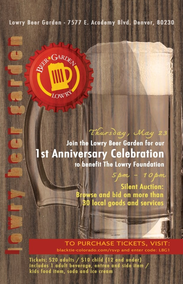 Lowry Beer Garden S 1st Anniversary Party Thursday May