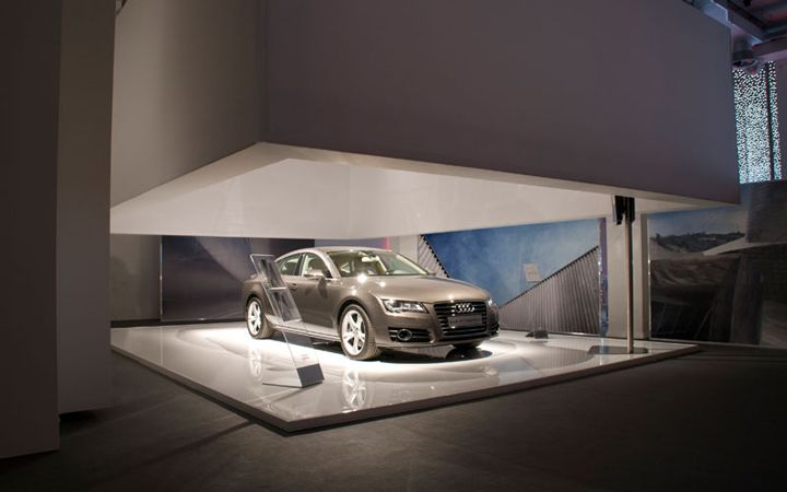Audi showroom by POINT studio Milan. Visit City Lighting Products…