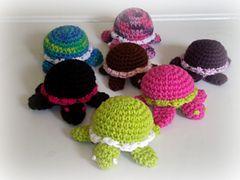Free Crochet Turtle Pattern
