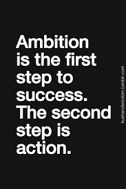 Take Action on what you want to achieve or else it will remain a wish.