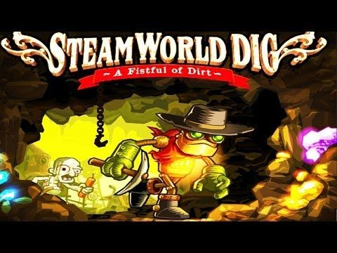 Let's Play SteamWorld Dig part 20: A Fistful of Dirt (Hardcore Indie Mining) - MyDiamondSkeleton!  Love Minecraft? Then you may like this little Indie game! Join me in my let's play series as I venture through this hardcore mining game.   Can I get 30 likes for this awesome game ;)?!  I got it for less than $5 on Steam.