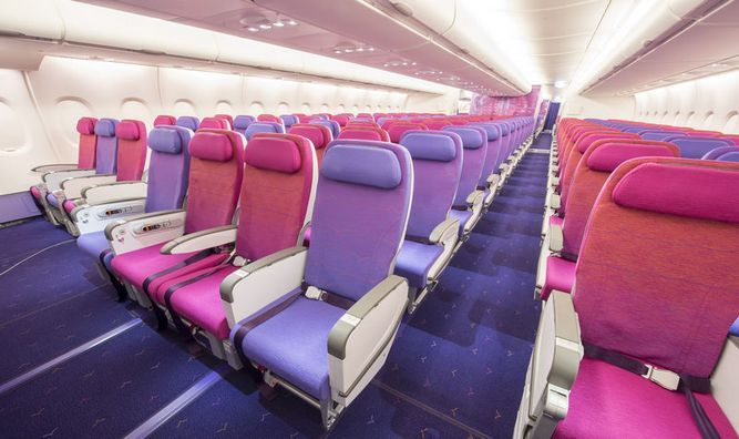 Thai Airways : Economy Class wow doesn't even look like a plane