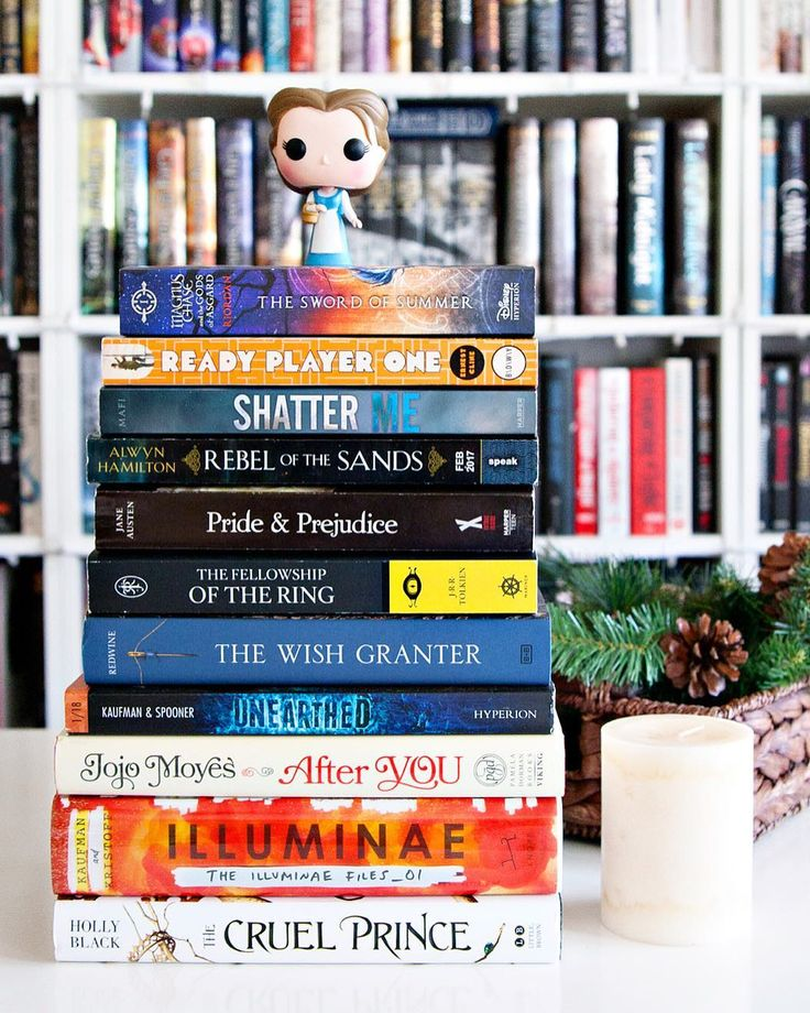 HAPPY NEW YEAR Bookworms!!  And happy Monday to you as well!! - 2018 has officially arrived!! Are you ready for the first day of this brand new year?? I am SO ready for 2018 to BRING IT!!  -  January TBR & 2018 Reading Goal. #AlltheBooksJan Today is the first day of our January Book Challenge and were super curious to know whats on your January TBR and what your reading goal is for the new year! - My January TBR has a mix of new books older books and a few rereads too! The books pictured…
