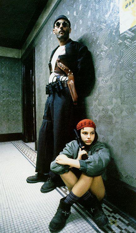 Jean Reno and Natalie Portman in Leon The Professional