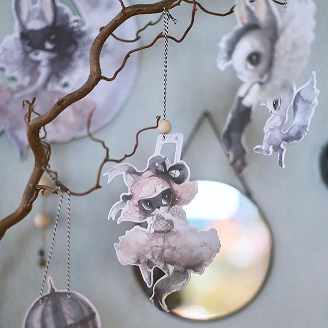shopindependent,mrsmighetto,babydecor,christmasgiftideas,kidsconceptstore,kidsdecor,kidsinteriors,sobeaubabyOur Mrs Mighetto garlands look beautiful hung anywhere,  even on the Christmas Tree!