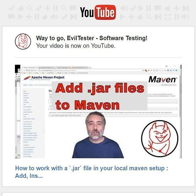 Sometimes you want to work with a jar file that isn't hosted in maven central.  It might be a 3rd party jar it might be one that you have written.  Regardless.  You have a lot of options for this. The approaches that I have used:  - add .jar files as an IntelliJ project dependency - install it locally to your .m2 repository - add it to your project as a system scoped file - use a repository management tool like Nexus or Archiva - publish the dependency to maven central  Read the blog post…