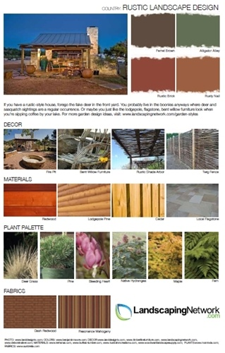 Use These Design Sheets To Decide What Garden Style Is Best For You And Your Home