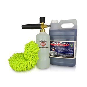 Black Cherry Gallon Qnix Foam Cannon Car Wash Kit *** You can find more details by visiting the image link. (This is an affiliate link and I receive a commission for the sales)