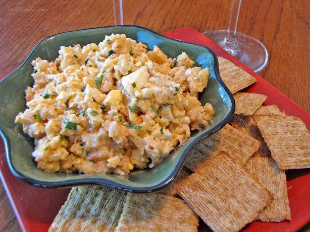 *Raekjusalat in Icelandic, this shrimp salad recipe is from *Cool Cuisine* (Traditional Icelandic Cuisine) by Nanna Rognvaldardottir. Per her intro, Salad dips like this have been very popular in Iceland since the 1960s. They are usually served on crackers at parties or used as sandwich filling much like in the U.S. (This recipe begins w/eggs already hard-boiled, so that cooking time has not been included *Enjoy* !