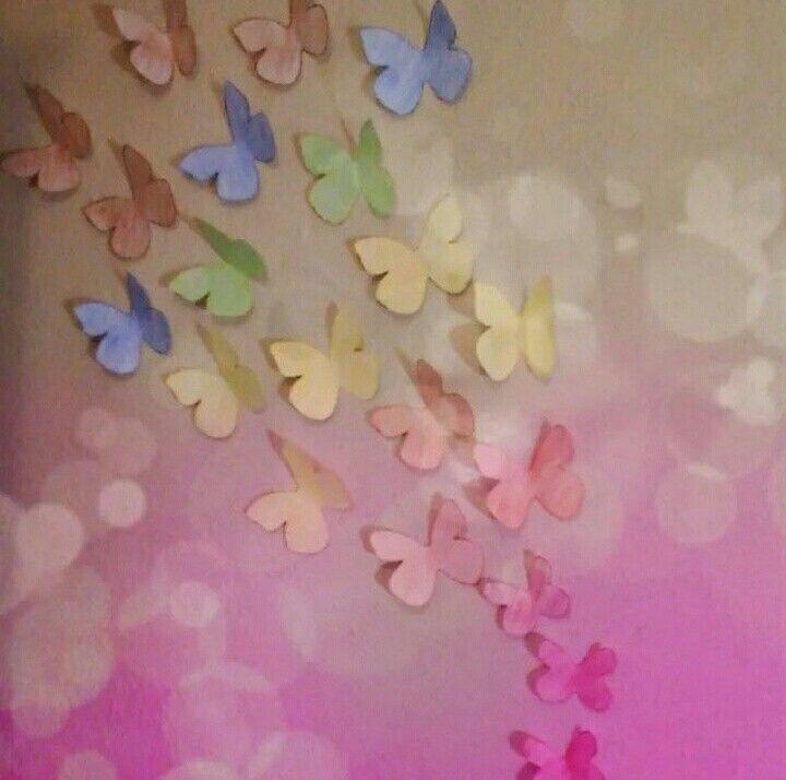 Rengarenk Kelebekler