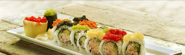 A feast for your eyes and palate! Gorgeous and tasty Cavi-Art (Kelp caviar), can be topping on sushi, or any canape, or cooked in sauce.