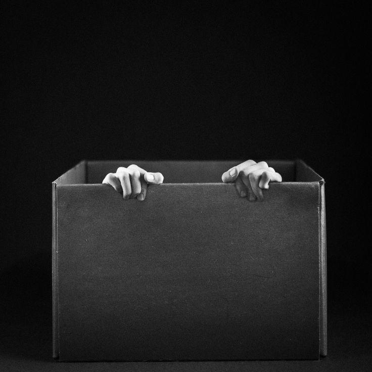 self portrait in the box
