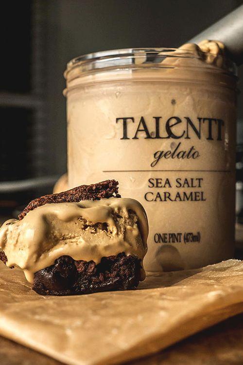 italian-luxury: Sea Salt Caramel // literally the best ice cream