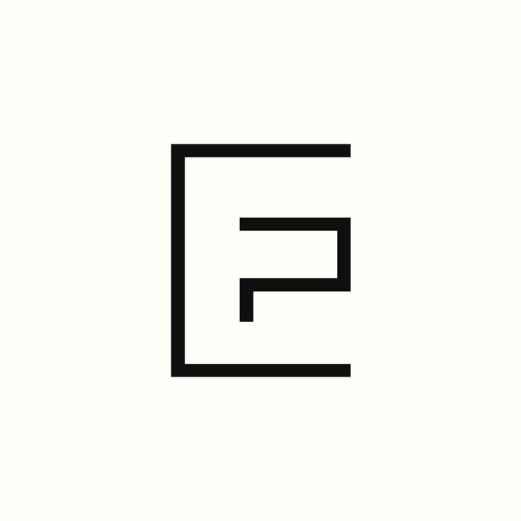 EP Monogram by Richard Baird. (Available). #logo #branding #design                                                                                                                                                                                 More