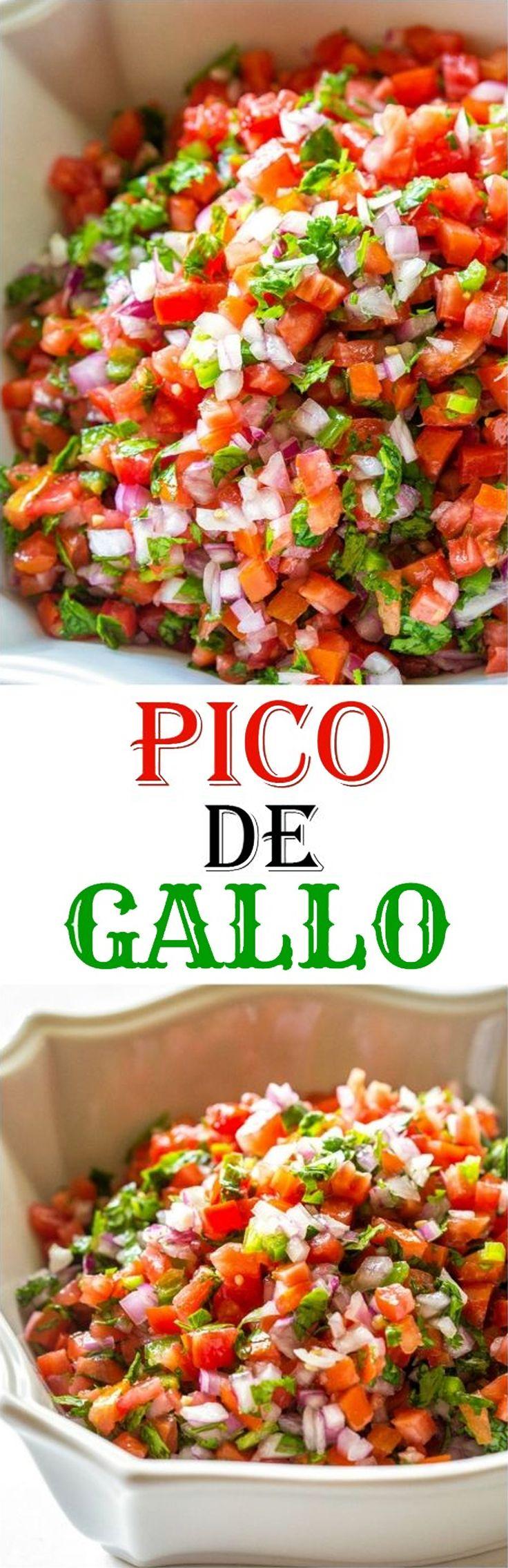Fresh tomato, cilantro, onion, and jalapeno make the best salsa ever.