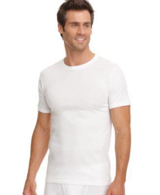 men's underwear pics   Jockey Men's Underwear, Classic Tall Man Crew Neck T Shirts 4 Pack