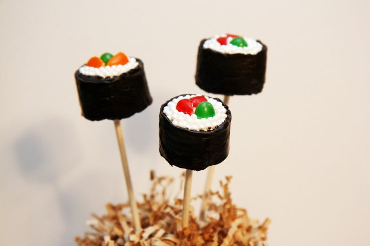 Sushi Cake Pops by kCreative