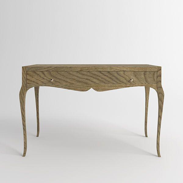 Письменный стол Villagio из массива дуба. Артикул: D005. Размеры ДхШхВ: 130x65x80 см. Материал: дуб. Цвет: золотой дуб
