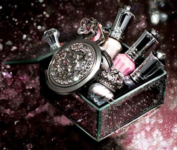 Jill Stuart. Gorgeous princessy makeup. I love  love looove this brand.