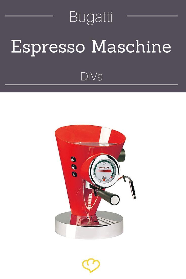 Für alle mit Benzin im Blut: die Espresso-Maschine von Bugatti! Also welcher Mann da mal kein Herzrasen bekommt...
