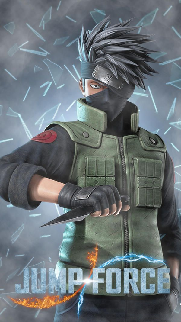 Jump Force Hatake Kakashi Naruto The Shippude By Farizf With