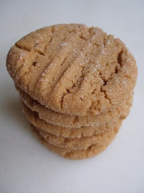 peanut butter cookie stack by shauna | glutenfreegirl, via Flickr