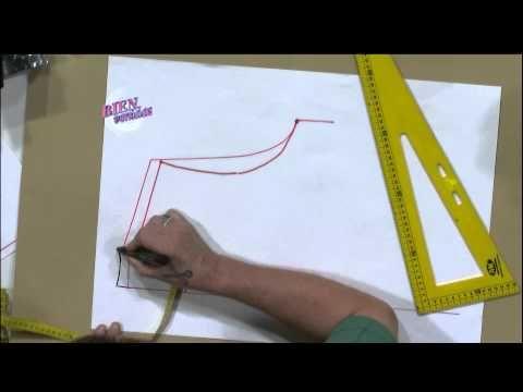 Hermenegildo Zampar - Bienvenidas TV - Explica como transferir medidas a un molde. - YouTube