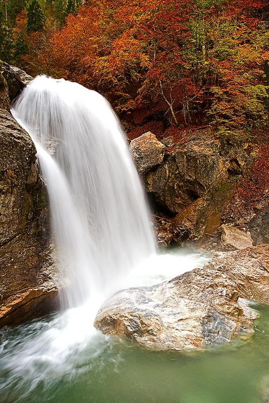 Garnitzenklamm Herbst, Carinthia, Austria