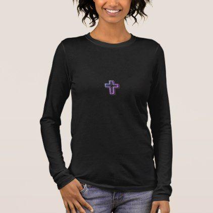 #women - #Christian_1 John 5:11_Sunset I-Multi-Colors-Styles Long Sleeve T-Shirt